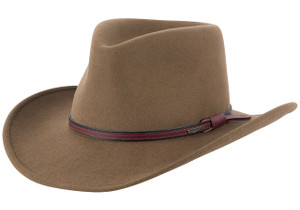 Stetson Bozeman Outdoor Hat - Brown - Side