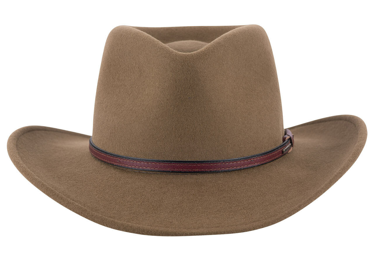 2615fa33646d59 Stetson Crushable Bozeman Outdoor Hat - Brown - Pinto Ranch