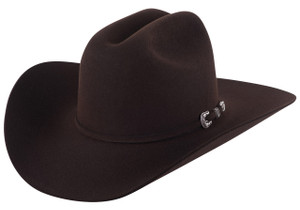 Stetson Skyline Chocolate 6X Cowboy Hat - Side
