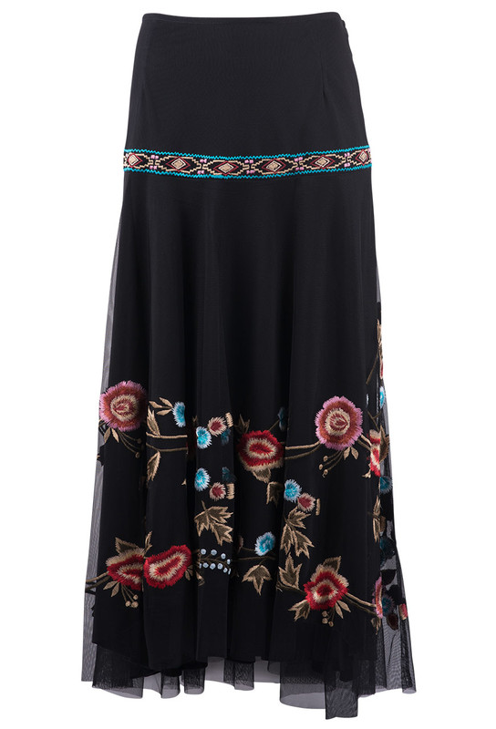 Vintage Collection Stacey Skirt With Band - Front