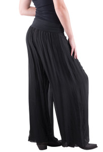 Gigi Moda Wide Pants - Black