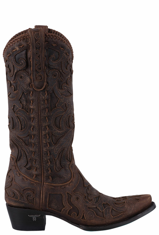 LANE WOMEN'S BROWN ROBIN BOOTS