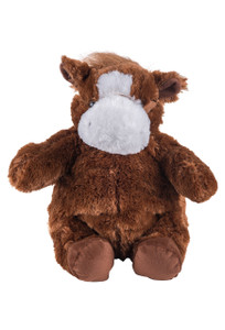 Cute Plush Horse Backpack - Front