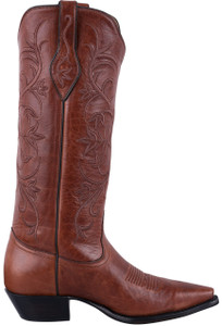Tony Lama Signature Series Women's Chianti Mont Blanc Cowhide Boots - Side