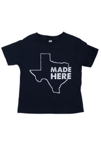 "Children's ""Made Here"" Texas Shirt"
