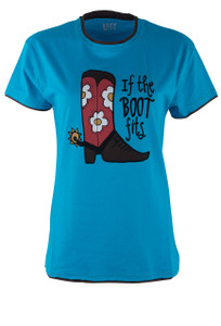 Children's If The Boot Fits T-Shirt - Front