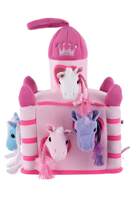 Plush Pink Horse Castle #horsecastle #cowgirlenvy #cowgirltoys #cowboyspecialist