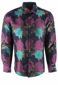 Robert Graham Limited Edition Tango Silk Shirt - Front