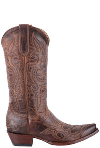 Old Gringo Women's Dark Rust Diego Boots - Side