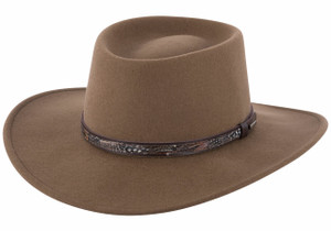 Stetson Crushable Bozeman Outdoor Hat - Brown - Pinto Ranch 3a6a405b864