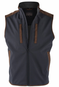 Madison Creek Black Pagosa Vest - Front