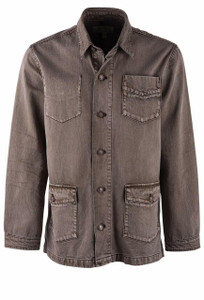 Ryan Michael Earth Vintage Barn Coat - Front