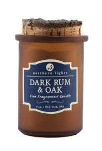 Dark Rum and Oak Spirit Jar Candle - Front
