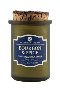 Bourbon and Spice Spirit Jar Candle - Front