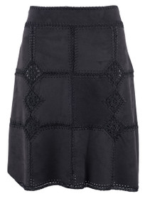 Montana Crocheted A-Line Skirt - Front