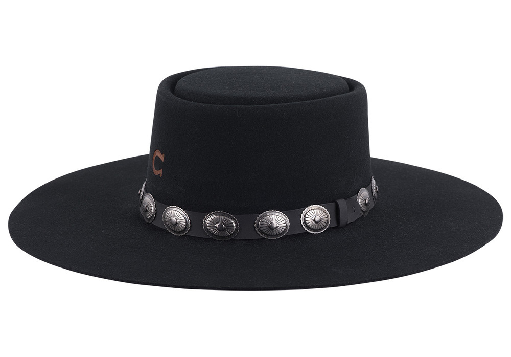 Charlie 1 Horse High Desert Black Hat