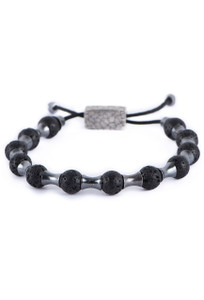 William Henry Summit Lava Bracelet