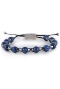 William Henry Sodalite Summit Bracelet - Front