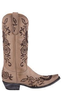 Old Gringo Women's Lucky Bone Boots - Side