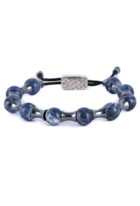 William Henry Sodalite Zenith Bracelet - Front