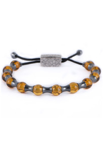 William Henry Amber Summit Bracelet