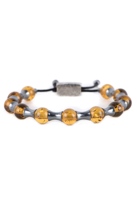 William Henry Amber Zenith Bracelet