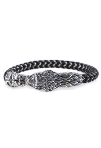 William Henry Full Circle Snake Bracelet - Front