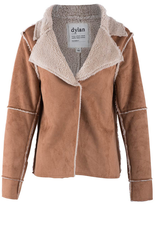 Dylan Sherpa Chic Jacket - Front