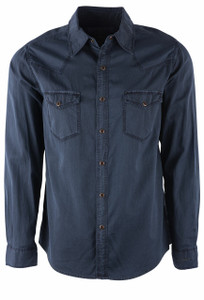 Ryan Michael River Bedford Corduroy Shirt - Front