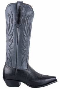 Tony Lama Signature Series Women's Mont Blanc Midnight and Granite Boots
