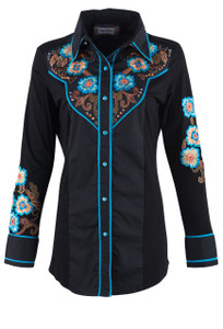 Vintage Collection Blossom Western Shirt - Front