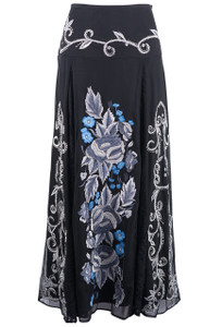 Vintage Collection Blue Ice Skirt  - Front