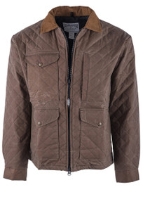 Schaefer Blacktail Quilted Range Wax Jacket - Front