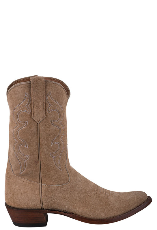 Rios of Mercedes Men's Lickety Split Rough Out Zipper Cowboy Boots - Side