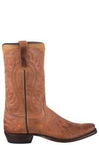 Rios of Mercedes Men's Mad Cat Rust Cowboy Boots - Side