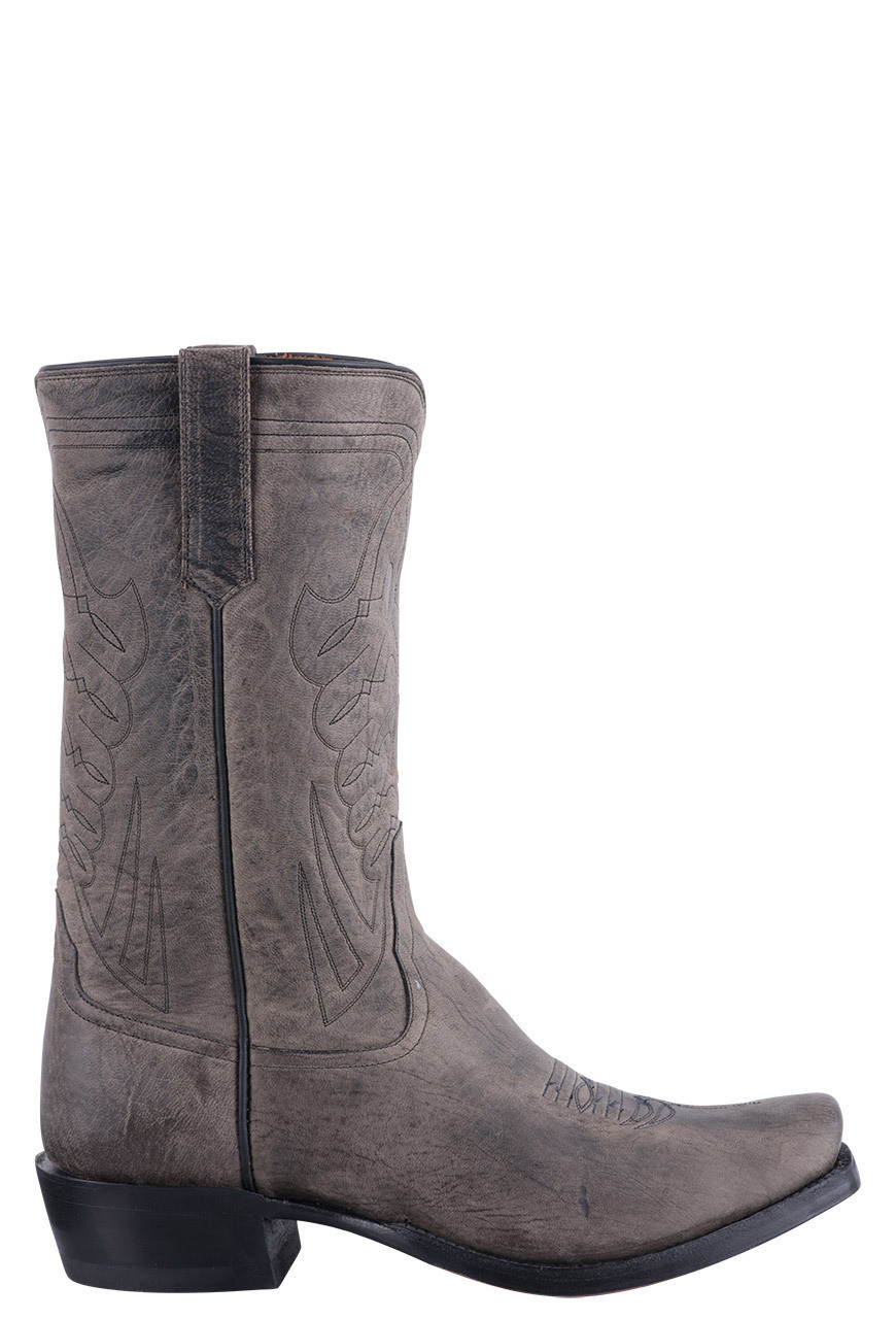 764b93a8288 Rios of Mercedes Anthracite Mad Dog Goat Cowboy Boots for Men