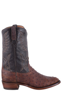 Rios of Mercedes Sienna Lux Full Quill Ostrich Cowboy Boots - Side