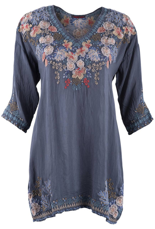Johnny Was Kalea Tunic - Front