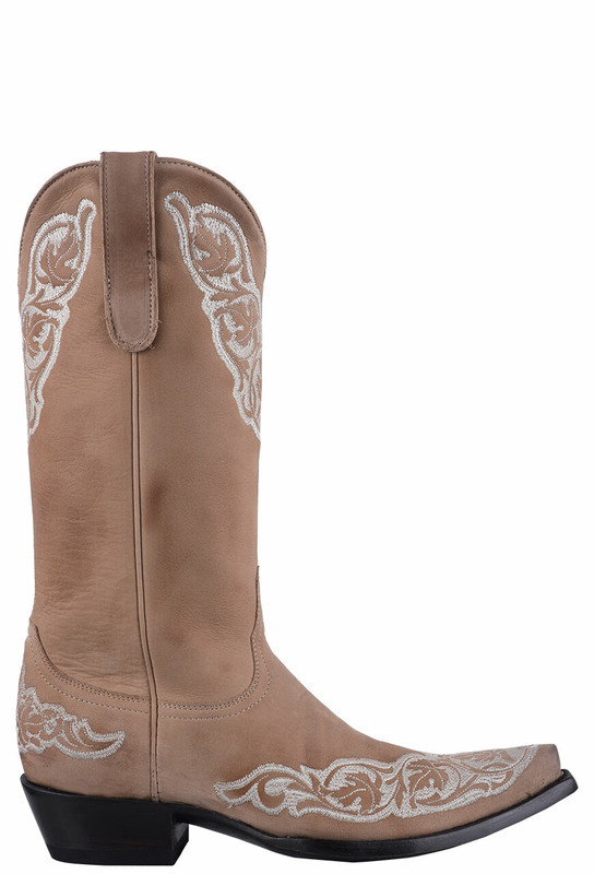 "Old Gringo Women's Bone Viridiana 13"" Cowgirl Boots  - Side"
