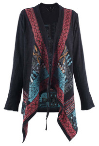 Paparazzi by Biz Winter Wonderland Embroidered Jacket - Front