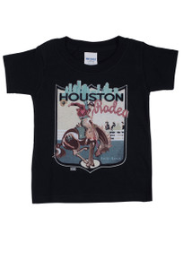 XOXO Art Co. Houston Rodeo Toddler Tee - Black