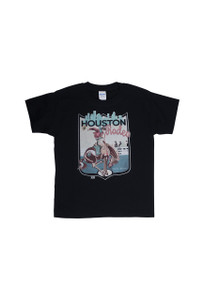 XOXO Art Co. Houston Rodeo Youth Tee  - Black