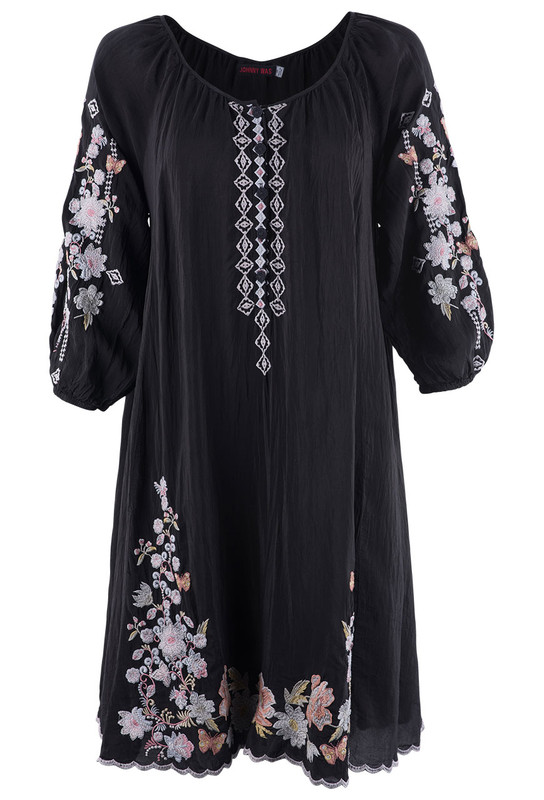 Johnny Was Astaria Tunic Dress - Front