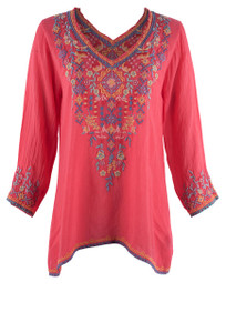 Johnny Was Ryleigh Blouse - Front