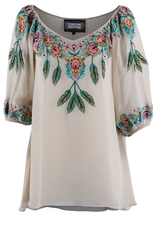 Vintage Collection Ivory Celebrate Top - Front