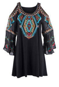 Vintage Collection Happiness Tunic Top - Front