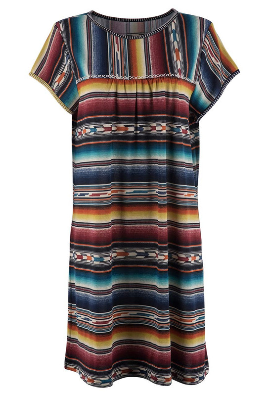 Double D Ranch Arizona Highway Dress - Front