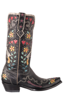 Old Gringo Double D Ranch Cowgirl Bandit Boots - Side