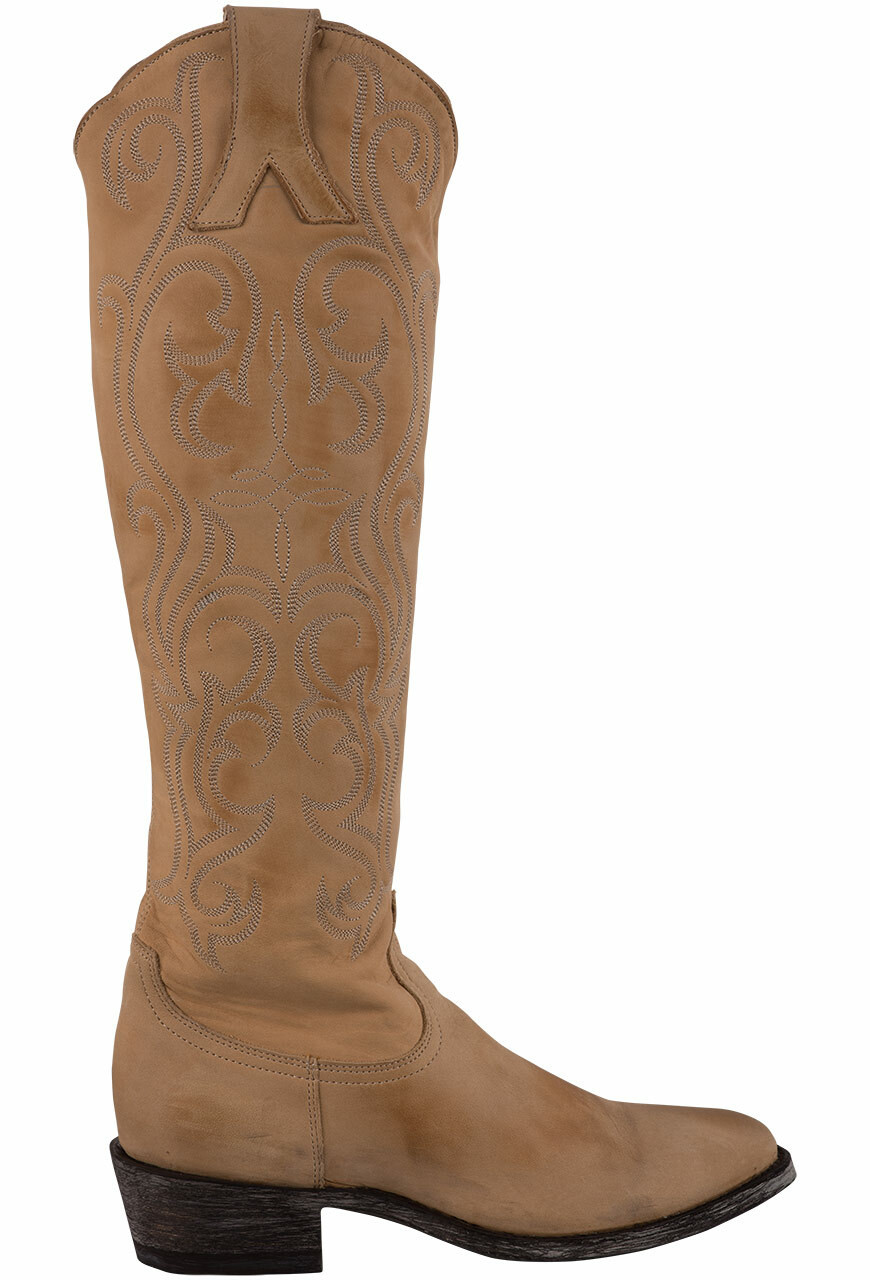 OLD GRINGO WOMEN'S STRAW DOLCE TOP 18-inch COWGIRL BOOTS