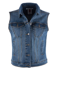 Stetson Women's Denim Vest - Front